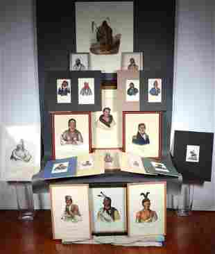 20 Native American Portraits.