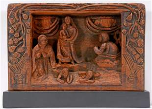 Charles Butler. Religious Relief Plaque.