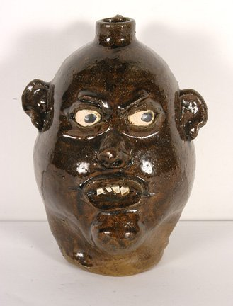 8: Chester Hewell. Face Jug.