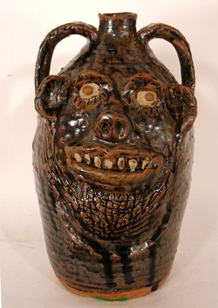 14: Marie Rogers. Double Face Jug.