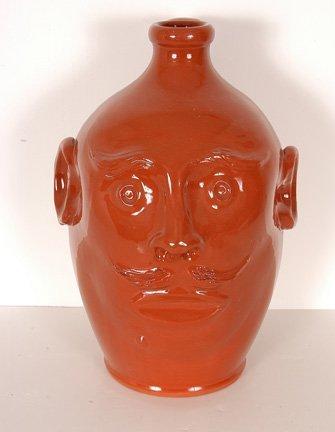 79: H. Pugh, New Salem Pottery. Face Jug.
