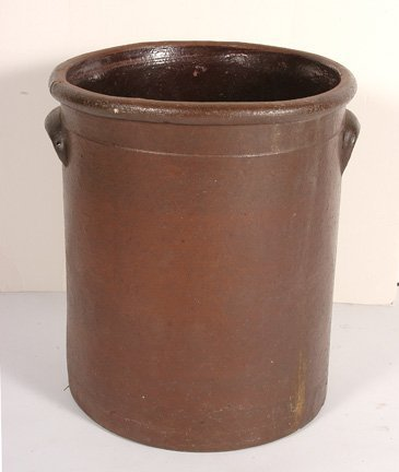 97: Anonymous. Giant Brown Crock.
