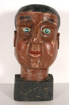 101: Carnival Head. Black Man's Head.