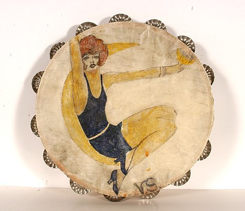 104: Videtta G. Shaver. Vaudeville Tamborine.