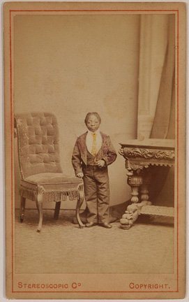 107: Stereoscopic Co. African Am. Little Person.