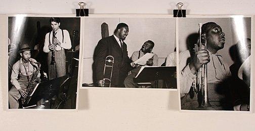 113: Joe De Casseres. 3 Black & White Photos.