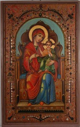 Teofilo Magliocchi.  Madonna & Child.