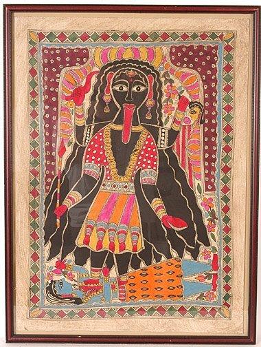 866: Geta Devi. Woman w 4 Arms.