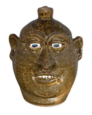 Lanier Meaders. Face Jug.