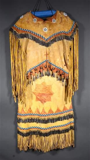 Apache Puberty Sunrise Two-Part Ceremony Dress.