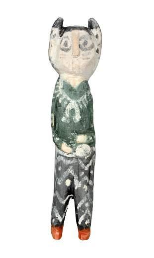 Charlie Willeto. Bison Ceremonial Figure.