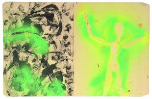 William S. Burroughs. Electric Green Man.