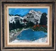 Justin McCarthy. Alpine Lake.