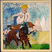 Justin McCarthy. Rodeo Rider.
