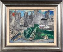 Justin McCarthy. Impressionist View Of NYC.