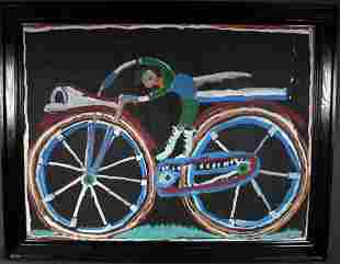 Jimmy Lee Sudduth. Bike Rider.