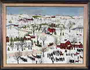 Janice Price. Amish Horse Auction.