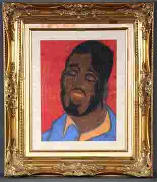 Ike Morgan. Man's Portrait.