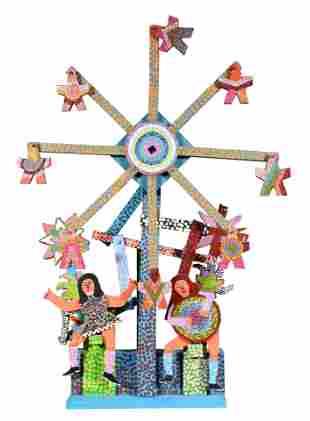 James Harold Jennings. Girls & Ferris Wheel.
