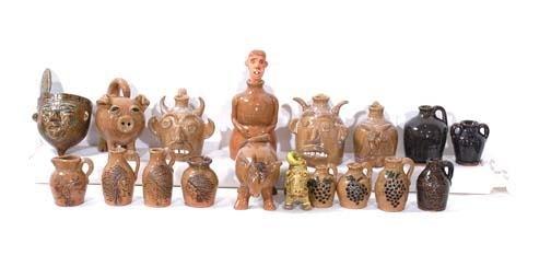 5: Kathy Richards - 18 Pottery Pieces