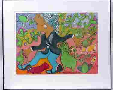 """123: Nellie Mae Rowe """"Woman in Motion"""""""