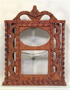 411: Howard Finster Clock Frame