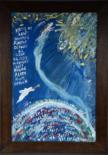William T. Thompson. Howard Finster Going To Heaven.