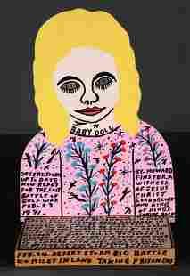 Howard Finster. Baby Doll.