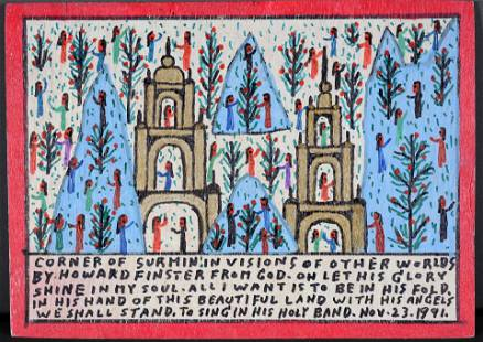 Howard Finster. The Happyland Of Promis.