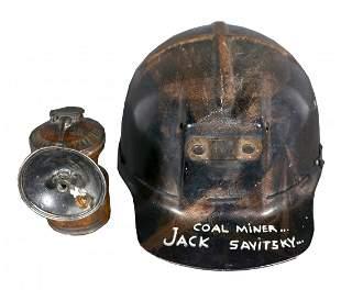 Jack Savitsky. Coal Miner Jack's Safety Helmet.