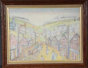 Jack Savitsky. Village of Silver Creek, PA.