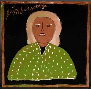Jimmy Lee Sudduth. Lady In Green.
