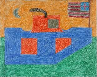 Eddie Arning. American Ship.