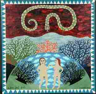 Levent Isik. Adam and Eve.