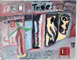 Charlie Lucas. Tree Store.