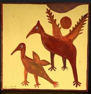 Mose Tolliver. Birds.