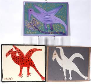 Mose Tolliver. French, Teco, Panon Birds.