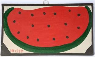 Mose Tolliver. Watermelon Slice.