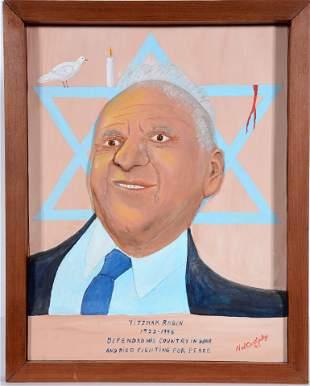Ned Cartledge. Yitzhak Rabin.