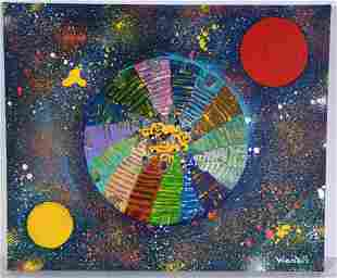 Woodie Long. Bird's Eye View Of Cosmos.