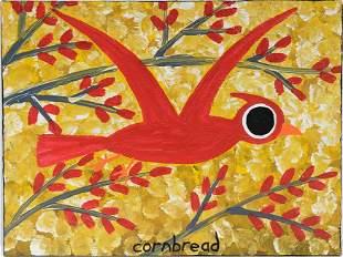 John Cornbread Anderson. Red Cardinal.