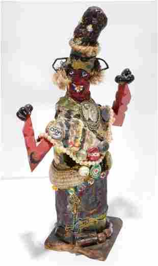 Derek Webster. Decorated Figure.