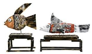 Mr. Imagination. Decorated Fish.