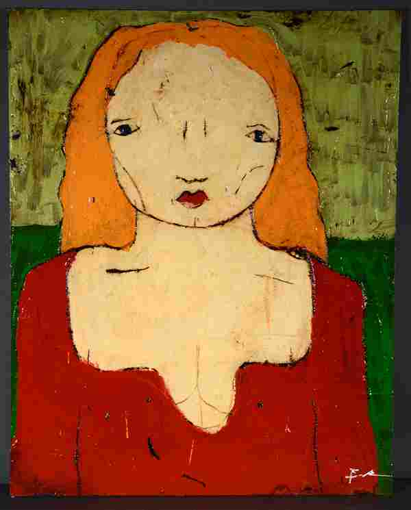 Michael Banks. Lady In Red.