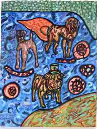 Anthony Joseph Salvatore. Three Dogs.
