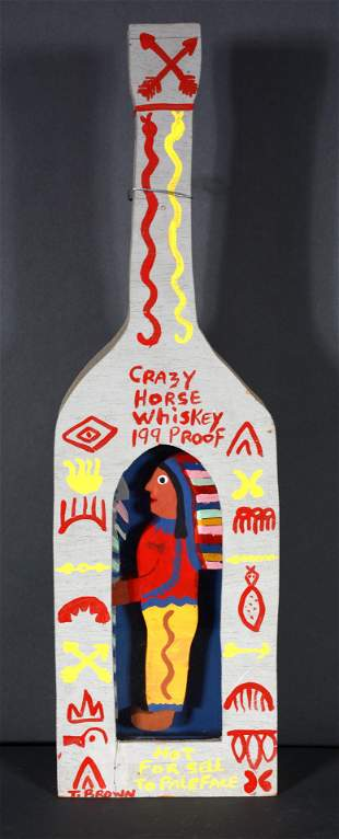Tubby Brown. Crazy Horse Whiskey.