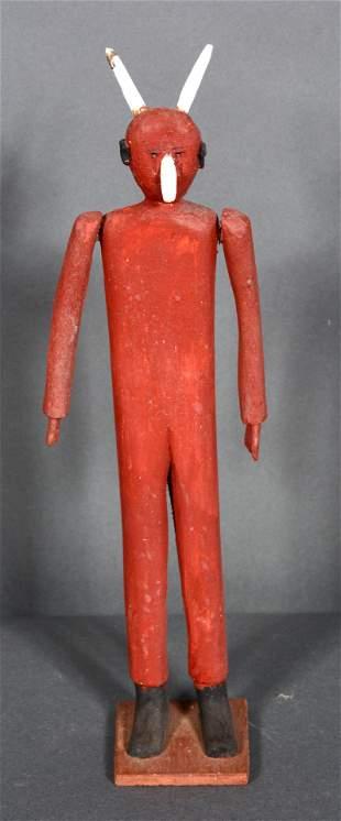 Fred Webster. Standing Red Devil.