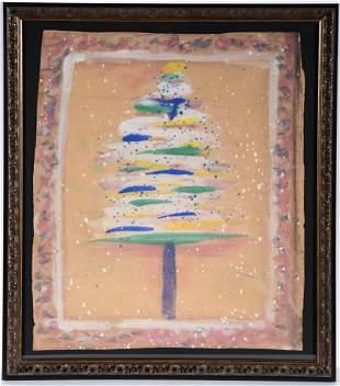 Sybil Gibson. Christmas Tree.