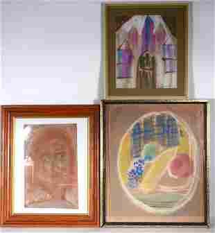 Sybil Gibson. Portraits and Still Life.