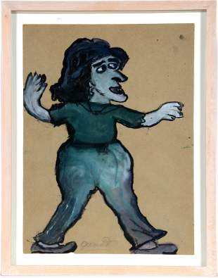 Juanita Rogers. Woman In Green.